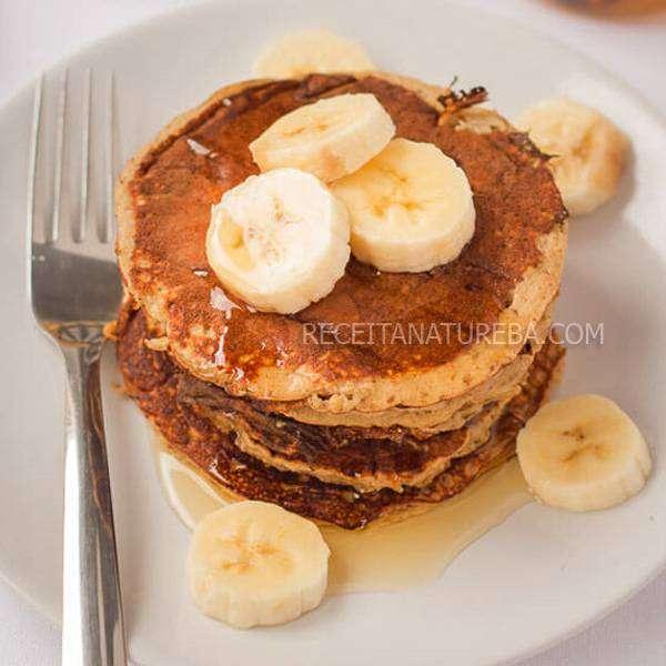 Panqueca de Banana 3 Ingredientes