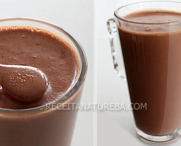 Chocolate Quente com Banana