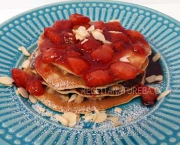 Panqueca Doce Low Carb