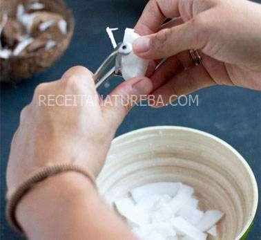 Como Fazer Chips de Coco