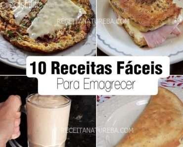 10 Receitas de Café da Manha Para Emagrecer