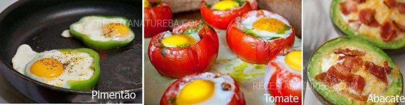 Ovos Low Carb - 5 Receitas Fáceis