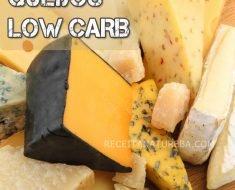 Queijos Low Carb - Permitidos