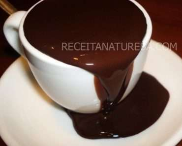 Chocolate Quente com Chocolate Amargo