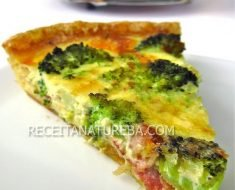 Quiche Fit de Queijo