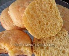 Pão de Leite Low Carb