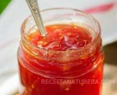 Geleia de Tomate com Pimenta