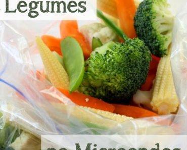 Como Cozinhar Legumes no Microondas