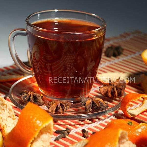 capa Chá de Casca de Laranja