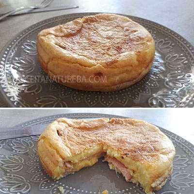 Pão de Queijo de Frigideira com Queijo