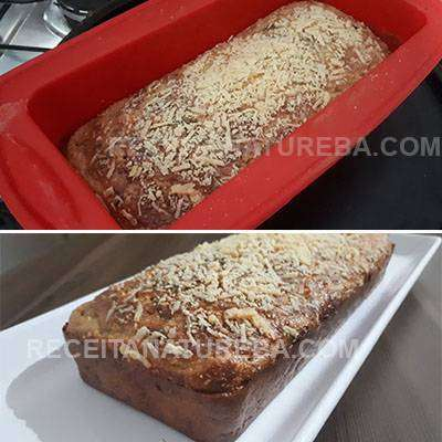 Pão de Cebola Integral de Liquidificador