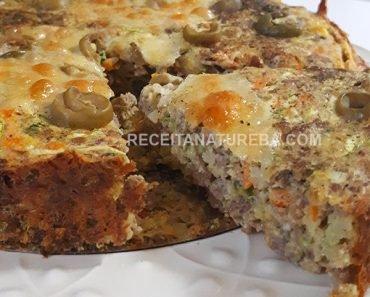 Torta Low Carb de Carne Moída