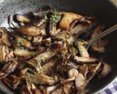 Shitake na Manteiga