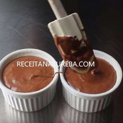 Suflê de Chocolate Low Carb