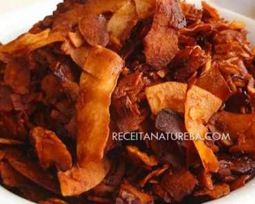 Bacon de Coco Caseiro
