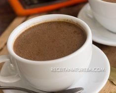 Receita de Chá de Chocolate