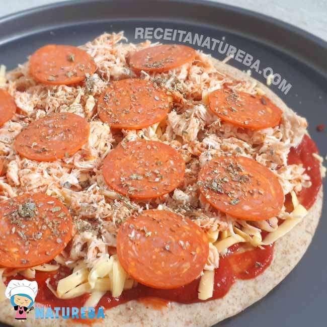Pizza com Farinha Integral7