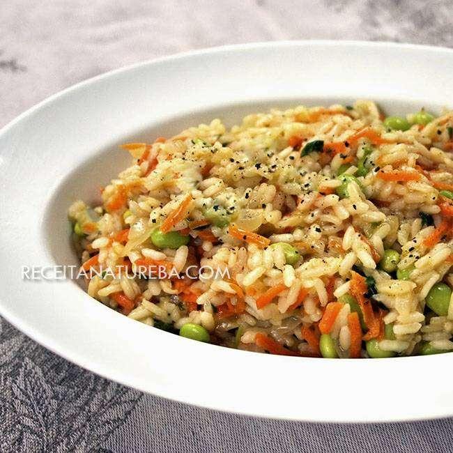 Risoto de Legumes Simples