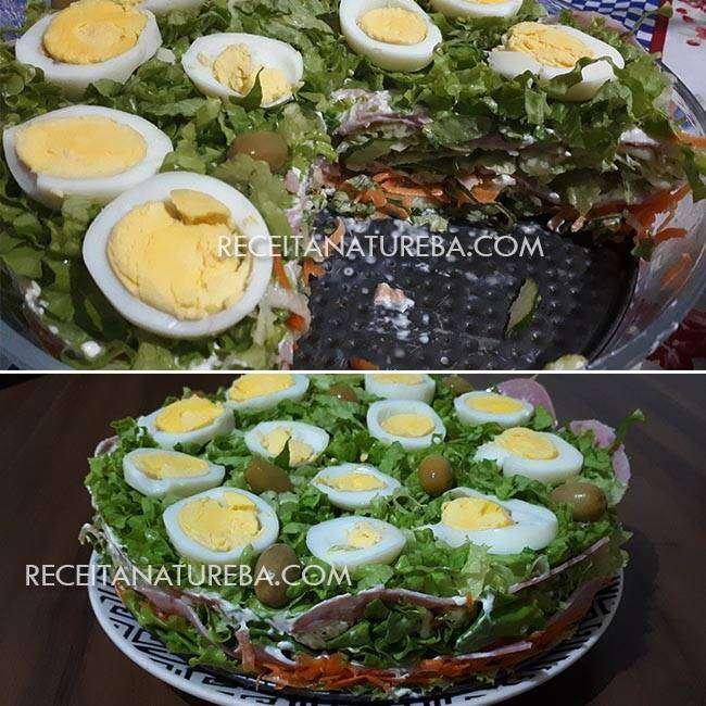 Salada-em-Camadas Salada em Camadas