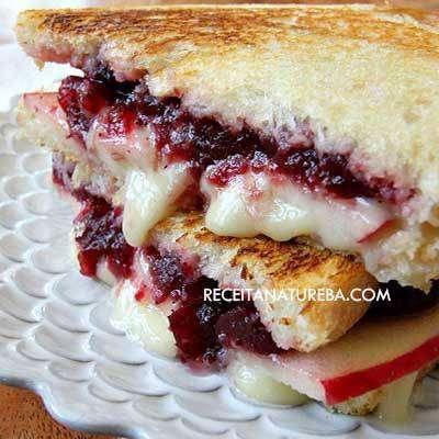 doce 10 Recheios para Sanduíche Natural