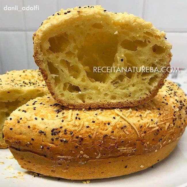 Bolo-Pão-de-Queijo-Fit Bolo Pão de Queijo Fit