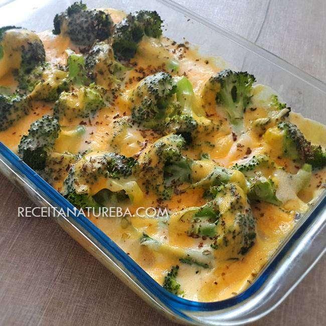 Brócolis-Gratinado Brócolis Gratinado