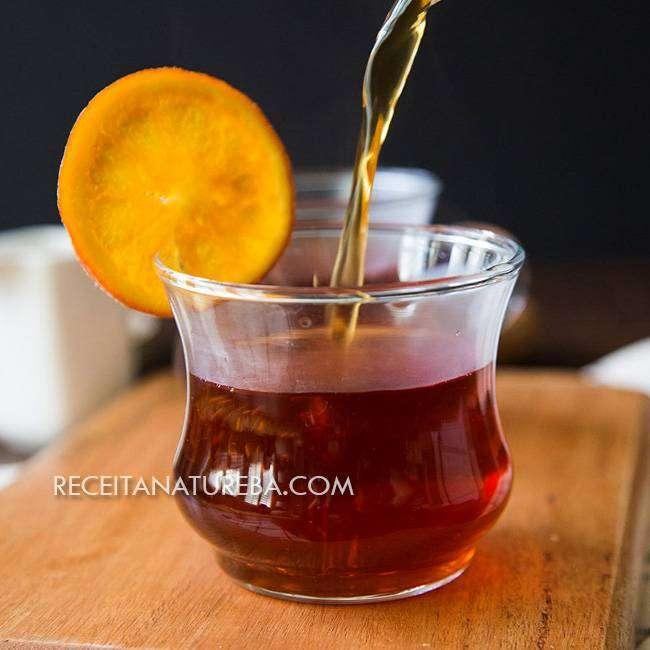 Chá-de-Laranja-e-Canela Chá de Laranja e Canela