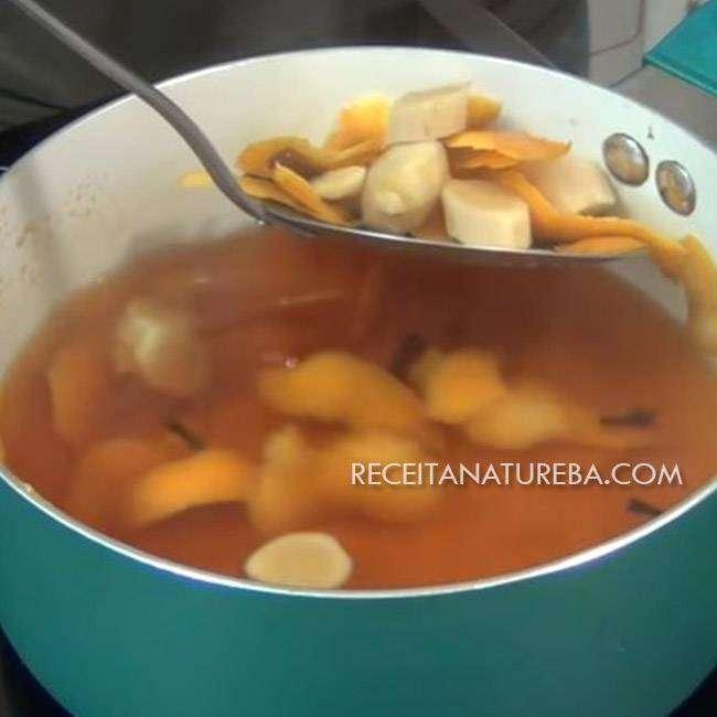 Chá de Laranja e Canela