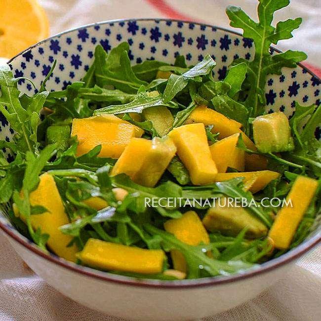 Como-Fazer-Salada-de-Rúcula Como Fazer Salada de Rúcula