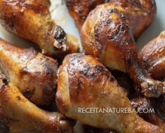 Frango de Forno Low Carb