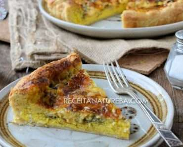 Quiche de Alho Poró Light