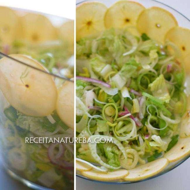 Salada-de-Alho-Poró Salada de Alho Poró
