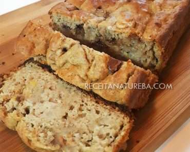 Bolo de Banana Fit com 3 Ingredientes