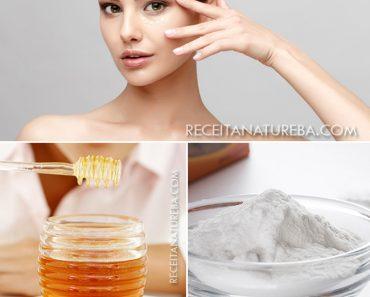 Limpeza de Pele com Bicarbonato e Mel