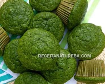 Muffin de Espinafre do Bem