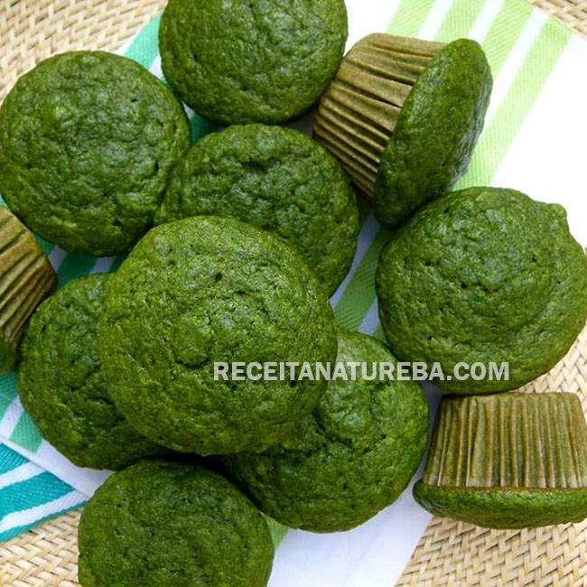 Muffin-de-Espinafre-do-Bem Muffin de Espinafre do Bem