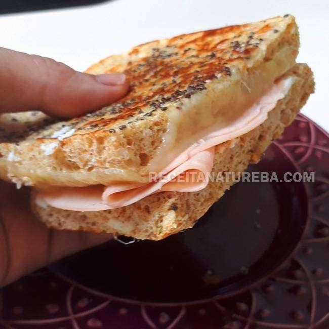 Pão Fit de Batata Doce