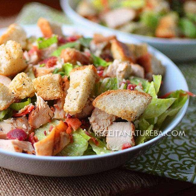 Receita-de-Salada-Caesar Receita de Salada Caesar