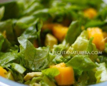 Salada de Manga com Alface