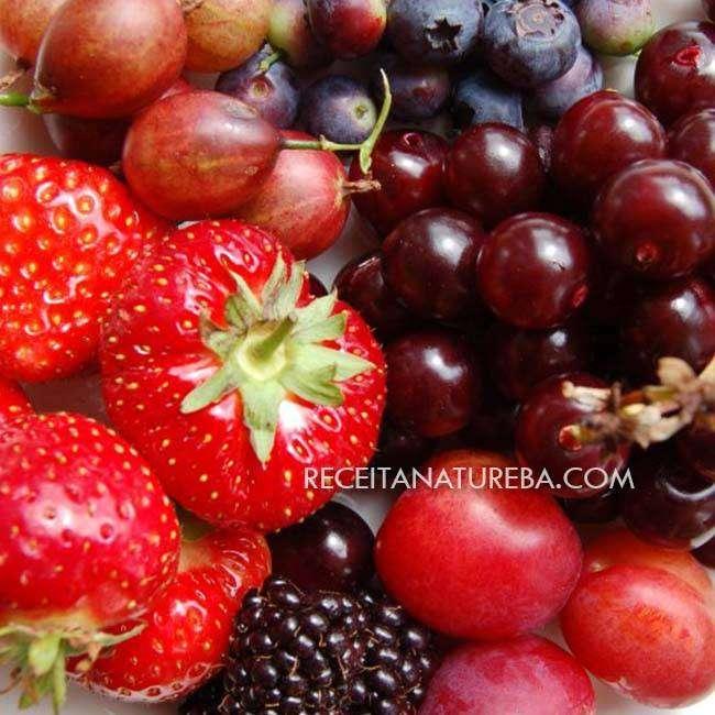 Smoothie de Frutas Vermelhas