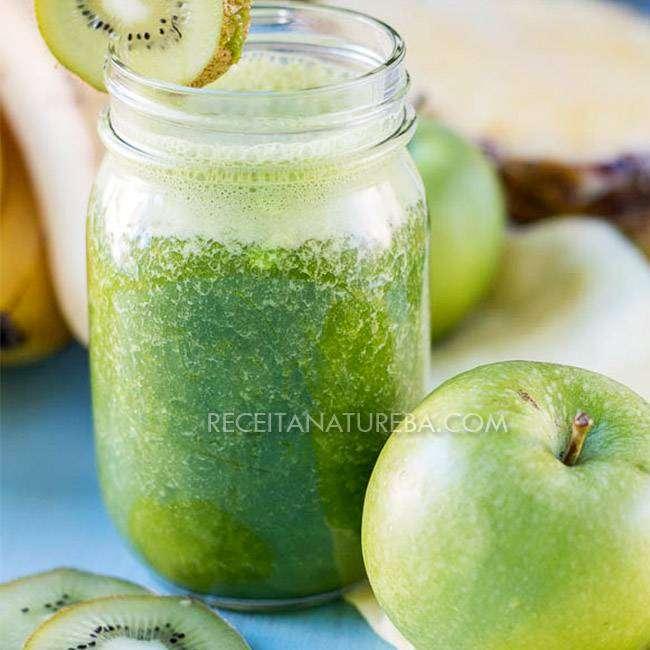 Suco-de-Maçã-Verde Suco de Maçã Verde