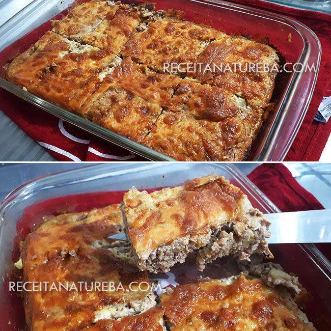 Torta de Carne Low Carb