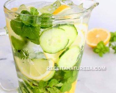 Água Saborizada com Limão