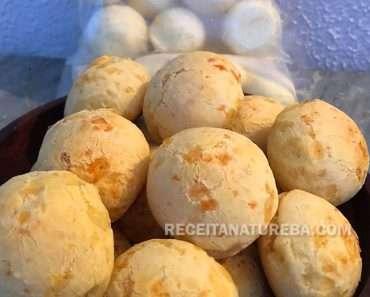 Pão de Queijo Vegano de Batata Doce