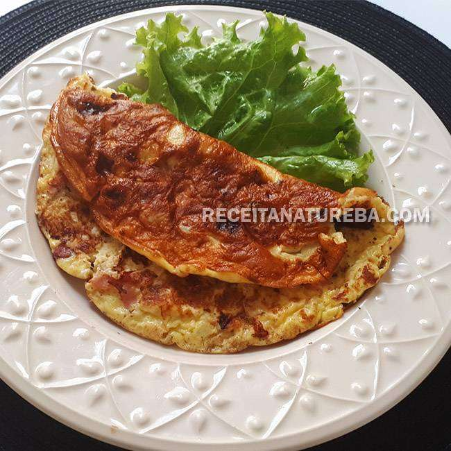 Receita de Omelete Fácil