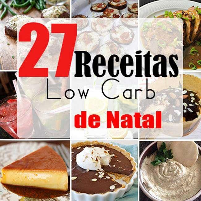 27-Receitas-Low-Carb-de-Natal-1 27 Receitas Low Carb de Natal