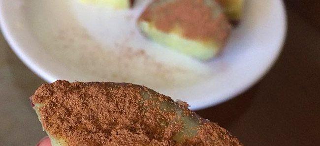 Batata Doce com Canela