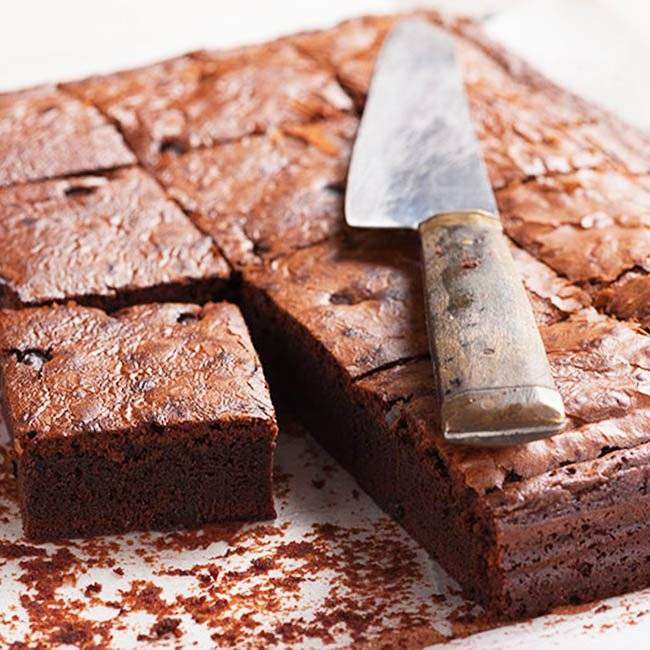 Brownie-de-Feijão-4 Brownie de Feijão