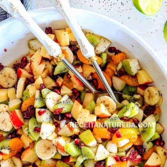 Salada-de-Frutas-de-Natal Salada de Frutas de Natal