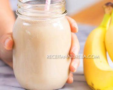 Batida de Banana com Leite